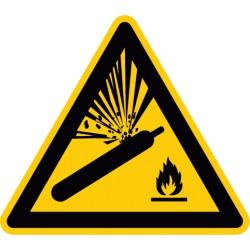 Warnung vor Gasflaschen (W029)