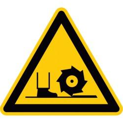 Warnung vor Fräswelle (D-W022)