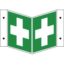 Winkelschild Erste-Hilfe (E003)