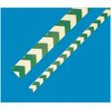 Markierungsstreifen Richtungspfeil, langnachleuchtend, grün