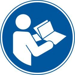 Anleitungen beachten (M002)