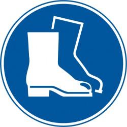 Fußschutz benutzen (M008)