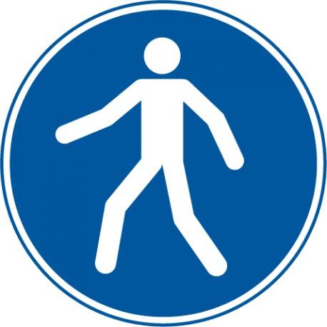 Fußgängerweg benutzen (M024)