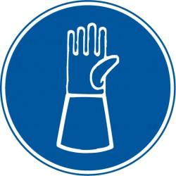 Handschutz mit Pulsschutz benutzen