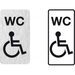 WC Symbol Behindertengerecht